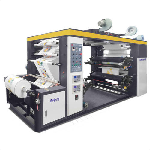 Multi Color Non Woven Printing Machine