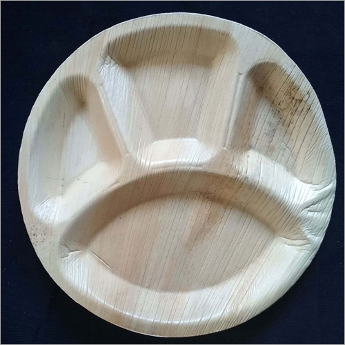 10 Inch 4 Compartment Round Plate