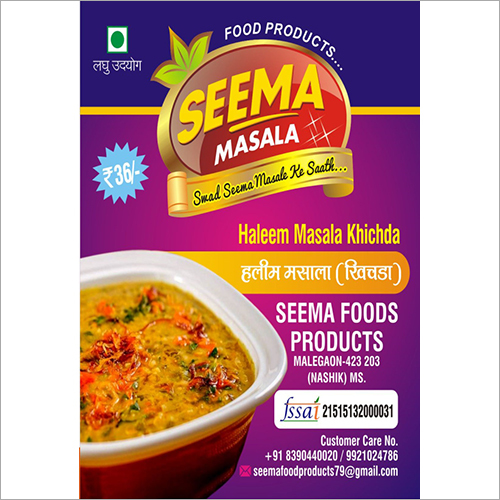 Haleem And Khichda Masala