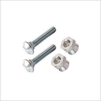 Carriage Bolt With Nuts