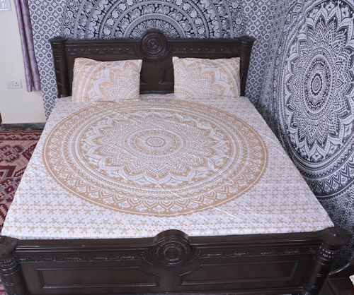Indian Mandala Cotton Round Duvet Cover