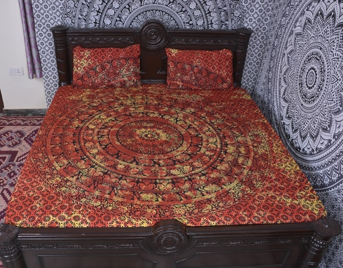 Indian Mandala Cotton Duvet Cover