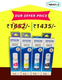 EPSON INK (003) for Serious L3110, 3150.