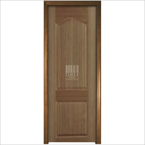 2 Panel Teak Natural Door