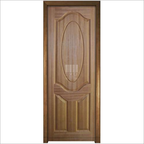 3 Panel Teak Natural Door