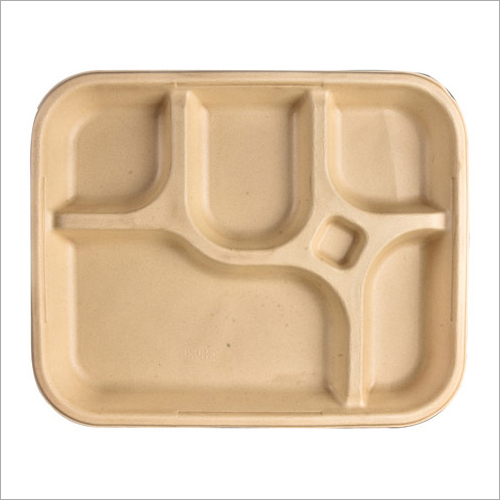 4 CP Eco Friendly Sugarcane Plate