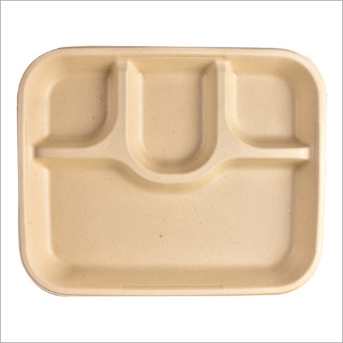 4 CP Eco Friendly Meal Plate