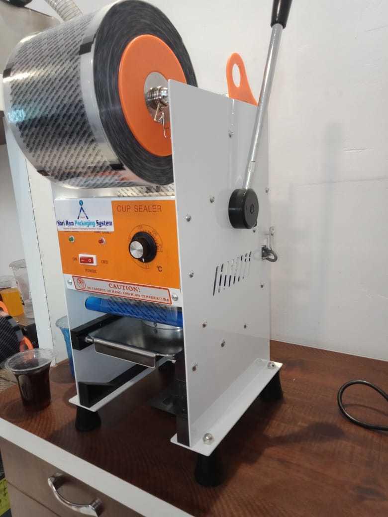 Semi Automatic Cup Sealer Machine