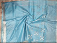 Cotton Dobby Butta Cover With Net Sarees