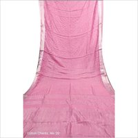Cotton Small Check Sarees