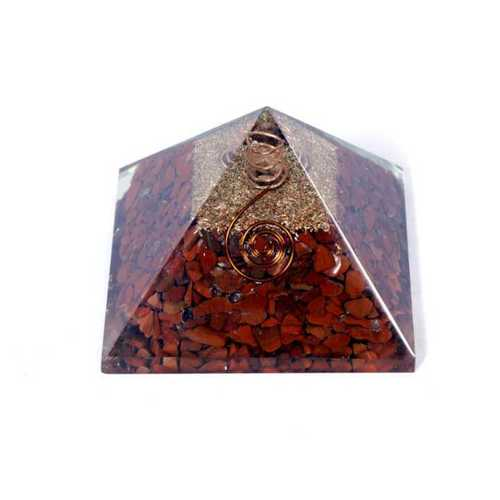 Orgone Red Jasper  Pyramid