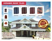 Coffee Brown Ceramic Roof Tile