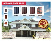 Single Wave Ceramic Roof Tiles