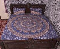Indian Mandala Flower Cotton Duvet Cover