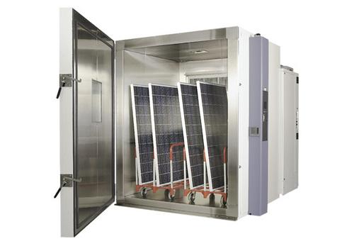 Solar Panel Test Chamber