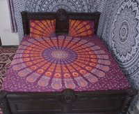 Indian Mandala Cotton Pink Duvet Cover