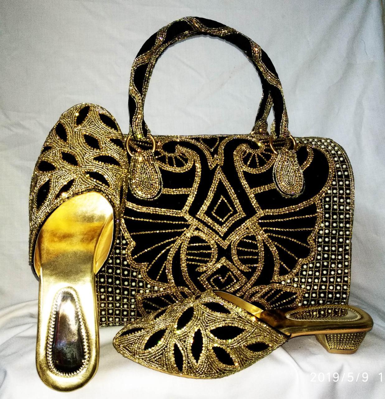 Embellishments Shoes & Bag