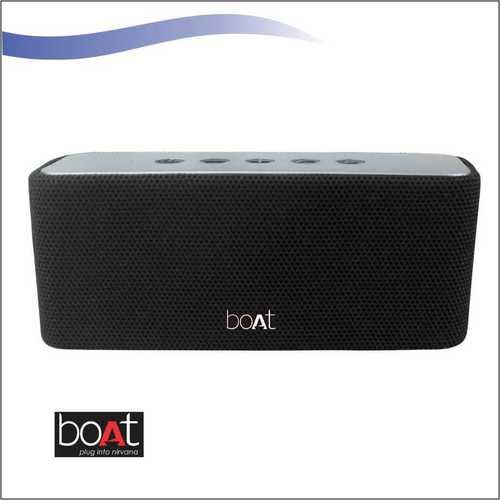 Boat Stone Aavante 15 Bluetooth Speaker Black
