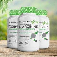 Nutricore Performance L-Arginine 500 Mg Capsules