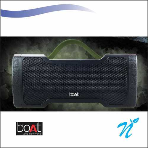 Boat Stone 1000 Bluetooth Speaker Black