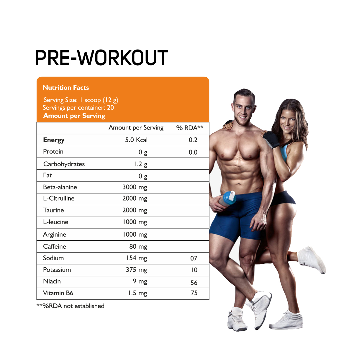 Nutricore Performance Preworkout Intense Complete