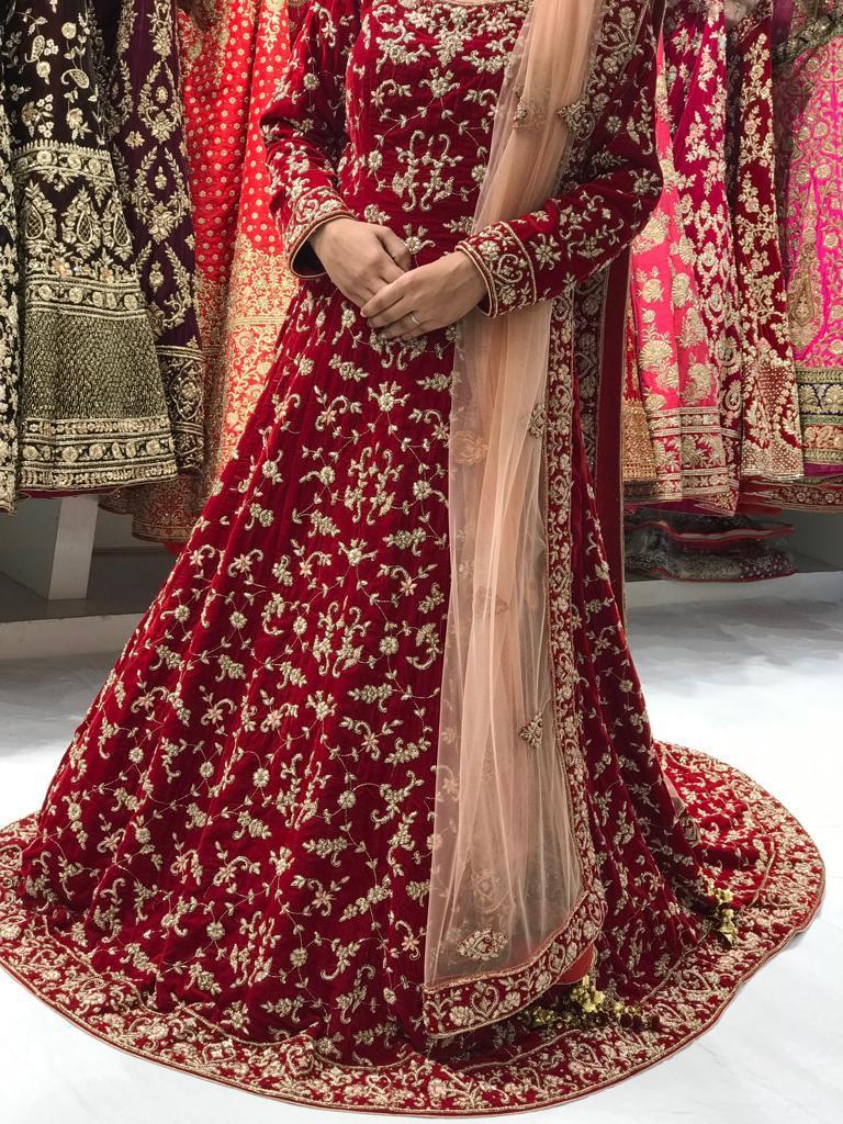 Ladies Embroidered Lehenga