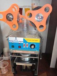 완전히 자동 컵 봉인자 기계