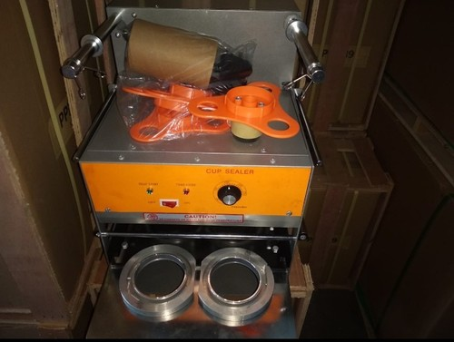 Automatic Double Cup Sealer Machine