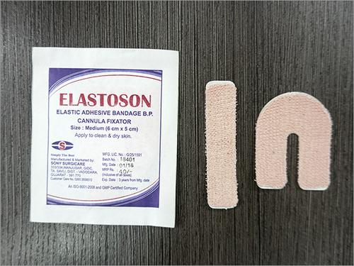 Cannula Fixator Elastic Adhesive Bandage BP