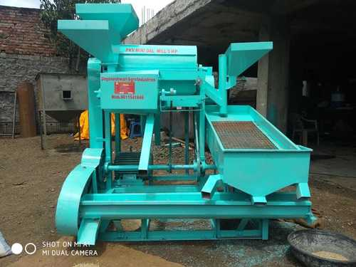 5 HP Dal Mill Machine