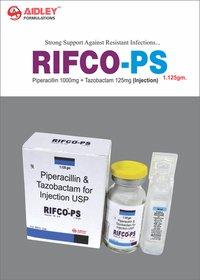 Piperacillin 1g + Tazobactam – 125mg Injection