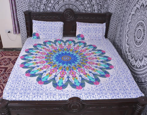 Indian Mandala Cotton Light Duvet Cover
