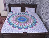 Indian Mandala Cotton Light Duvet Cover