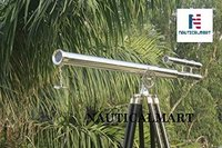 ARTIZANSTORE Floor Standing Chrome Griffith Astro Telescope 64