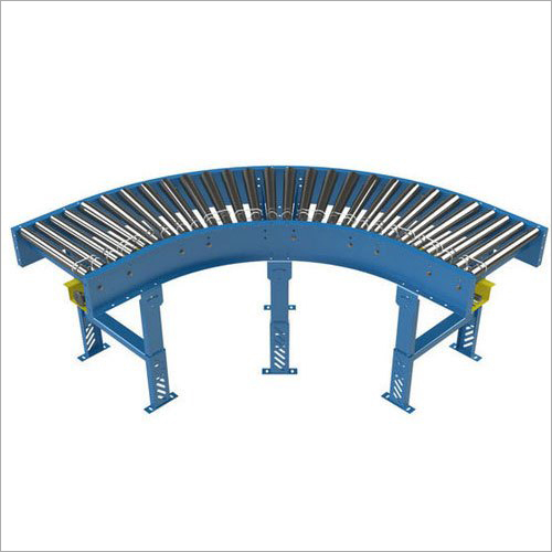 90 Degree Curved Roller Conveyor