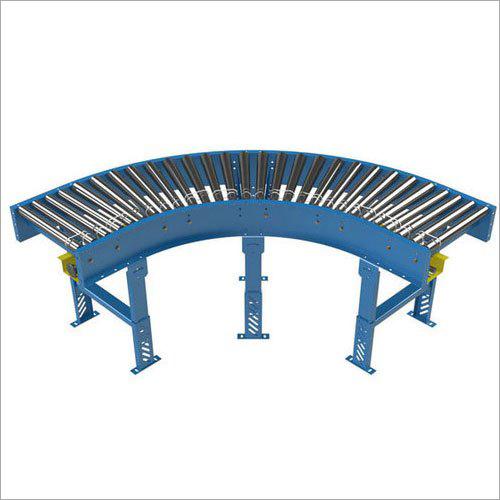 90 Degree Curved Roller Conveyor