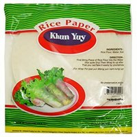Spring Roll Rice Paper Wrappers (Khun Yuy)