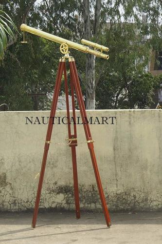 Nauticalmart Nautical Floor Standing Brass Griffith Astro Telescope, 44