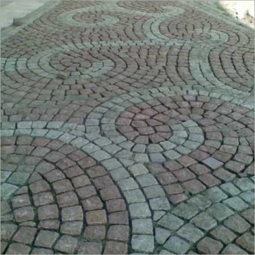 Natural Granite Paving Cobblestone