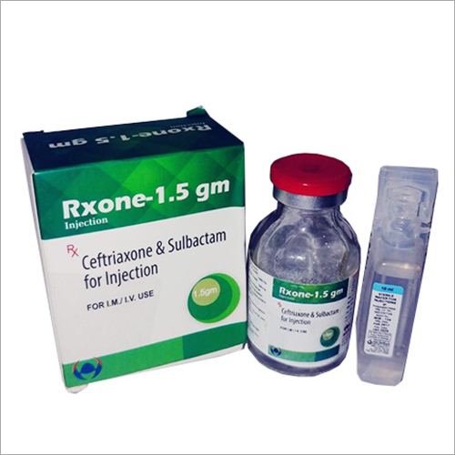 Ceftriaxone And Sulbactam For Injection