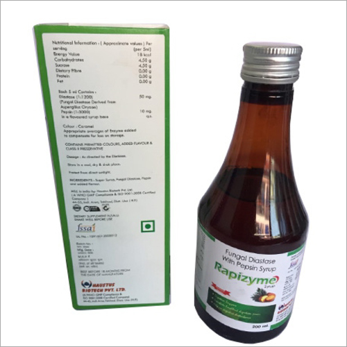 200ml Fungal Diastase With Pepsin Syrup