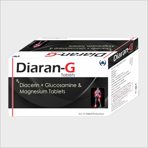Diacerin Glucosamine And Magnesium Tablets