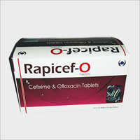 Cefixime And Ofloxacin Tablets