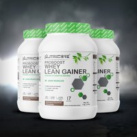 NUTRICORE PROBOOST WHEY LEAN GAINER (Delicious Gourmet Chocolate)
