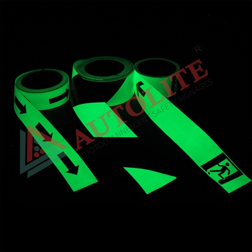 Glow in the Dark photoluminescent Tapes