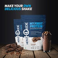HealthOxide My First Protein with whey, casein & pea, Chocolate-1kg