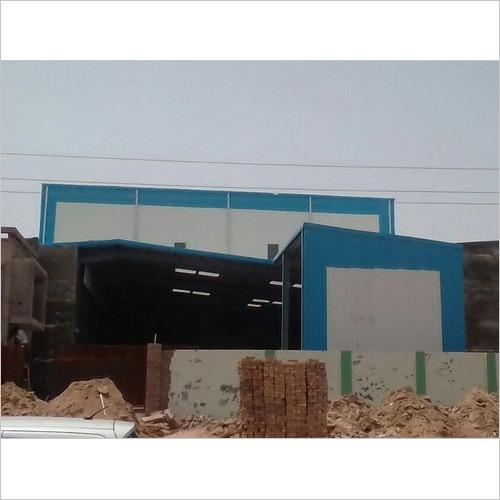 Bare Galvalume Prefabricated Metal Buildings