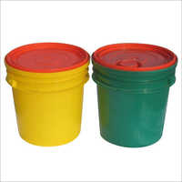 White Grease Container