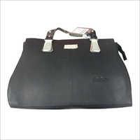 Ladies Leather Black Bag