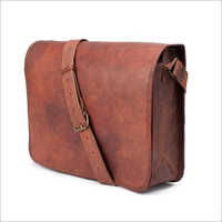 Office Brown Leather Bag